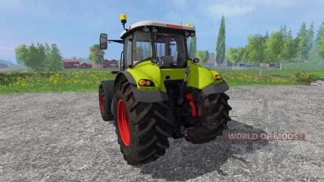 CLAAS Axion 850 v6.0 para Farming Simulator 2015