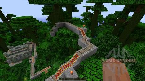 Jungle Temple Coaster para Minecraft