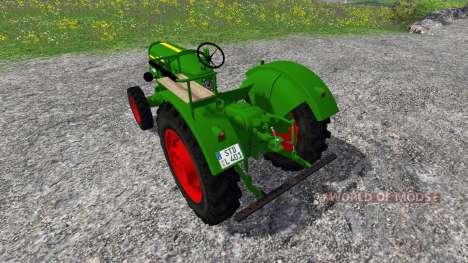 Deutz-Fahr D40 v2.0 para Farming Simulator 2015