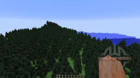 Mount Helium Part of Project Minecraftia para Minecraft