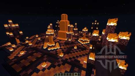 Temple of Svarog The fire God [1.8][1.8.8] para Minecraft