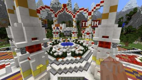 Professional Hub Spawn Lobby para Minecraft