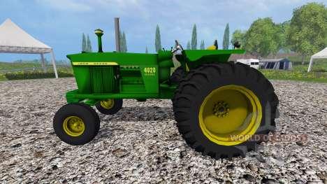 John Deere 4020 para Farming Simulator 2015