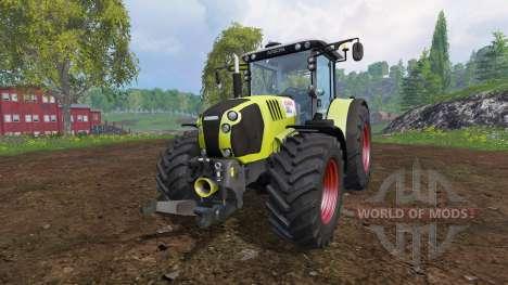 CLAAS Arion 650 v2.1 para Farming Simulator 2015