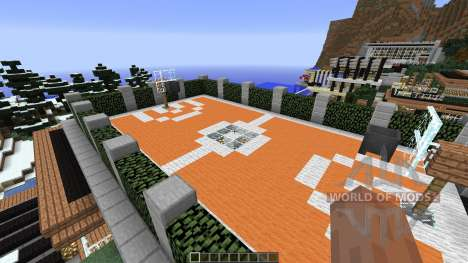 Luxurious Cove House para Minecraft