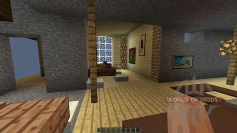 LUX contemporary villa [1.8][1.8.8] para Minecraft