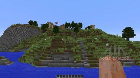 Roman Villa para Minecraft