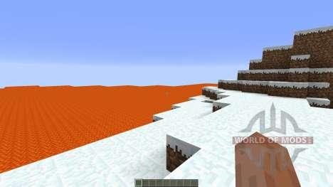 Lava island surival para Minecraft