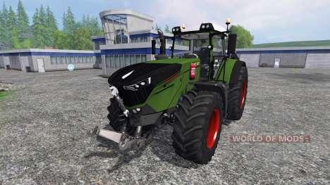 Fendt 1000 Vario v1.5 para Farming Simulator 2015