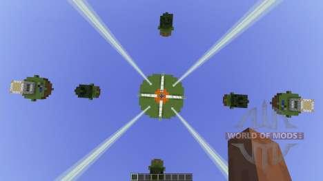 Natural Islands Skywars map [1.8][1.8.8] para Minecraft
