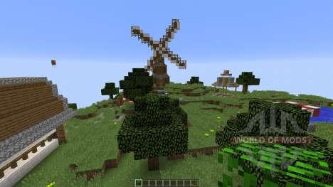 Sky Village para Minecraft