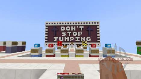 Dont Stop Jumping Parkour [1.8][1.8.8] para Minecraft