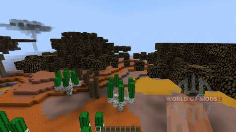 Mesa Desert Chuck Display [1.8][1.8.8] para Minecraft