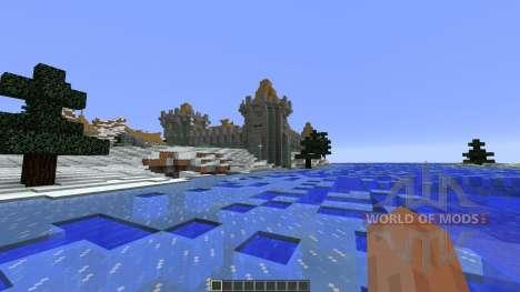 Frostfell Island para Minecraft