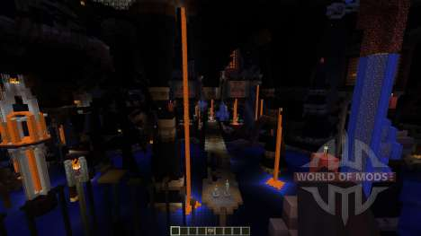 The Unholy Cathedral Most Evil map para Minecraft