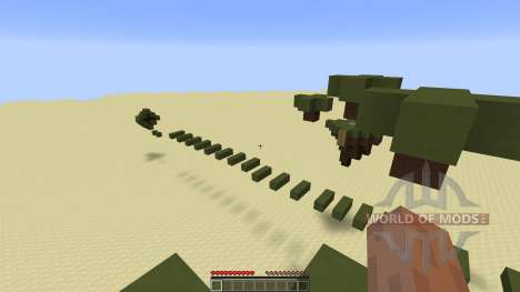 Tiki Parkour Challenging Parkour para Minecraft