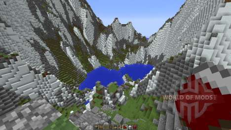 Mountainside Realistic Terrain para Minecraft