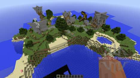Old village in medieval style para Minecraft