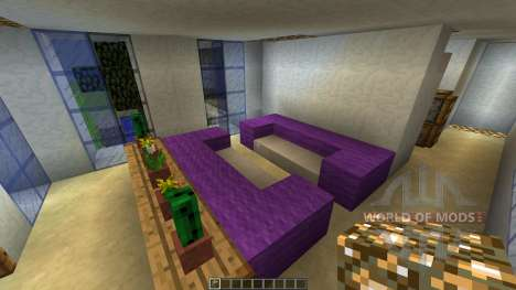 MODERN HOUSE 3 THE CABIN [1.8][1.8.8] para Minecraft