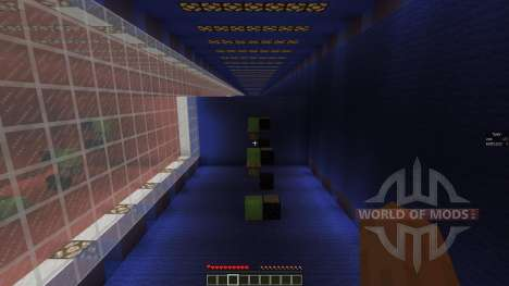 Red vs Blue Obstacle Course 3 para Minecraft