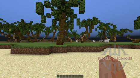Tropical Island para Minecraft