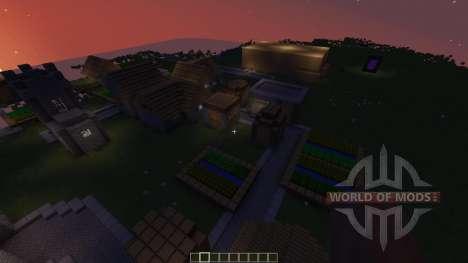 UNFINISHED CASTLE OF CASTLENSS para Minecraft