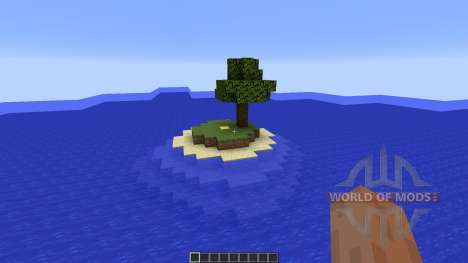 Ultimate Creative World island para Minecraft