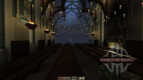 Great Hall of Hogwarts [1.8][1.8.8] para Minecraft