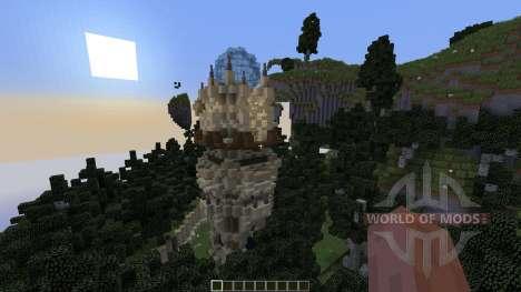 Wizards Temple para Minecraft