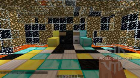 5 Layer PvP Arena para Minecraft