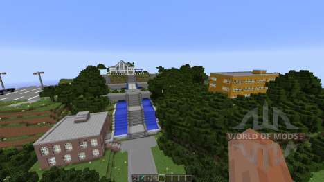Angel Beats School [1.8][1.8.8] para Minecraft