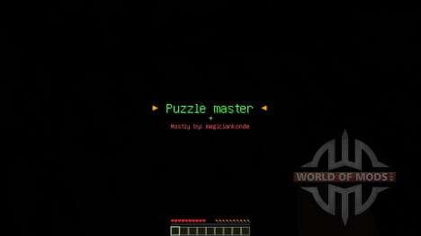 Puzzle Master Custom Map para Minecraft