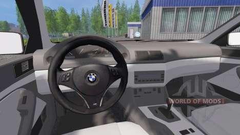 BMW 540i (E39) 2001 para Farming Simulator 2015