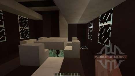 Black White Modern house para Minecraft