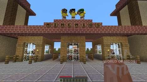 Minemios The new Minecraft amusement para Minecraft