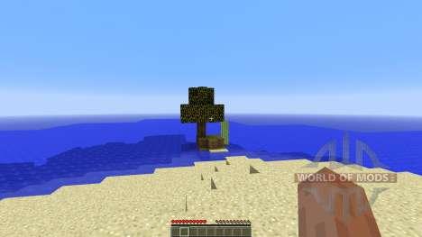 Survival Island v1.0 para Minecraft