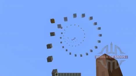 Spiral Parkour para Minecraft