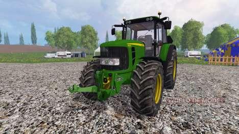 John Deere 6830 Premium FL v3.0 para Farming Simulator 2015