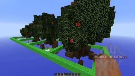 Moordegaais awesome tree pack para Minecraft