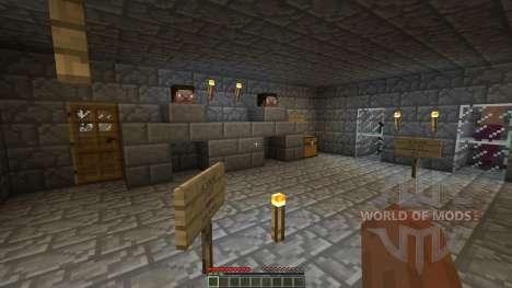 The Dead Crypt Adventure Map para Minecraft