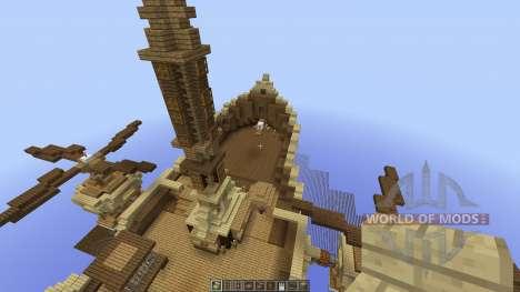 Astex Airship para Minecraft