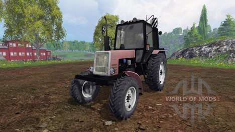 MTZ-Belarús 1025 v1.2 para Farming Simulator 2015