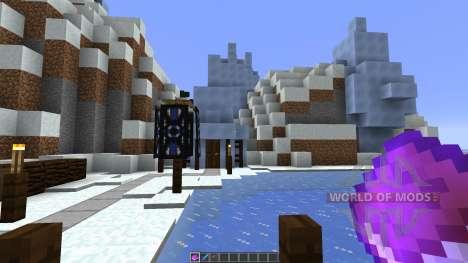 Icecube Village para Minecraft