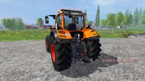 Fendt 718 Vario orange para Farming Simulator 2015