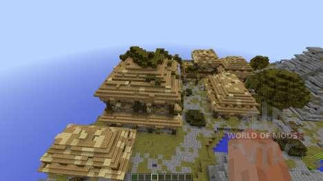 Azteque Forgotten Island para Minecraft