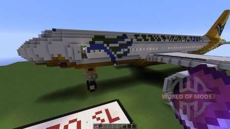 Airbus A320SL Cebu Pacific Airways para Minecraft