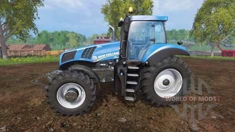 New Holland T8.435 v2.0 para Farming Simulator 2015