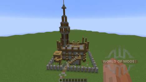 Small Medieval Fort para Minecraft