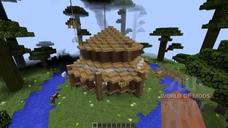 Clifftop Village [1.8][1.8.8] para Minecraft