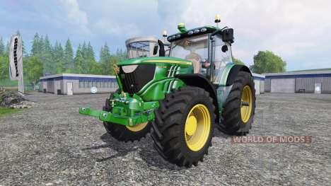 John Deere 6210R v1.1 para Farming Simulator 2015